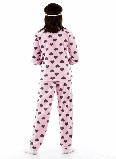 Pemilo Pijama Takım Mürdüm
